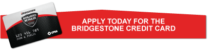 Bridgestone Credit Application