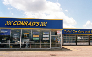 Conrad's Tire Express & Total Car Care Parmatown, OH located on Day Drive