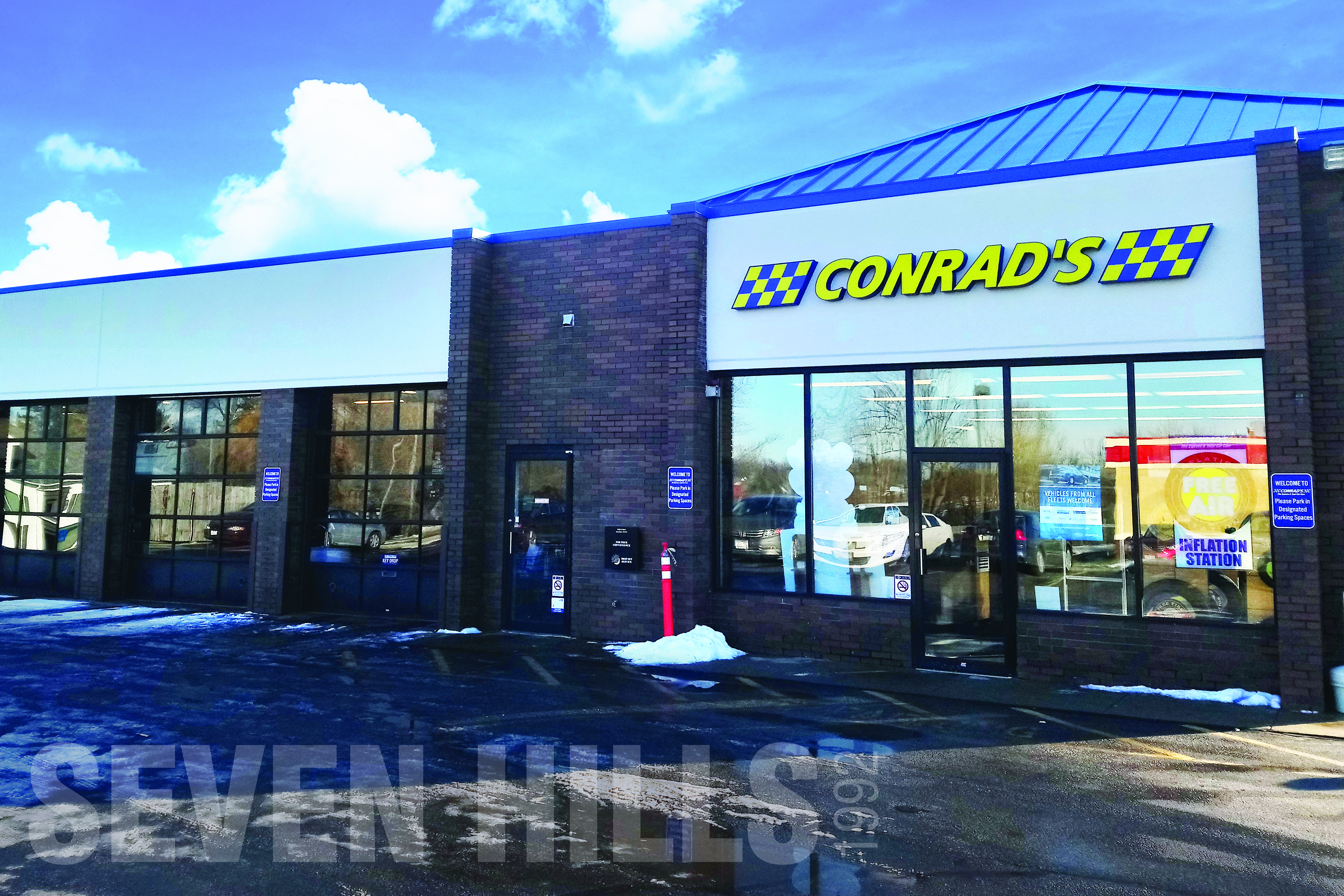 Conrad's Tire Express & Total Car Care Seven Hills, OH located on Broadview Road