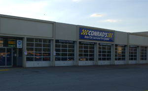 Conrad's Tire Express & Total Car Care Richmond Heights, OH located on Richmond Road