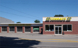 Conrad's Tire Express & Total Car Care Akron, OH located on Triplett Boulevard