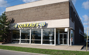 Conrad's Tire Express & Total Car Care Painesville, OH located on North Saint Claire St